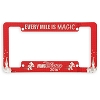 Disney License Plate Frame - runDisney 2016