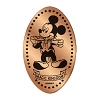 Disney Pressed Penny - Mickey Mouse in Tuxedo