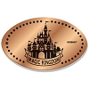 Disney Pressed Penny - Magic Kingdom Cinderella's Castle