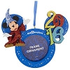 Disney Christmas Frame Ornament - 2016 Sorcerer Mickey Mouse
