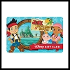 Disney Collectible Gift Card - Jake and the Neverland Pirates