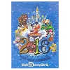 Disney Postcard - 2016 Sorcerer Mickey and Friends - Lenticular