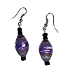 Disney EPCOT Recycled Paper Earrings - Purple Beads