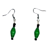 Disney EPCOT Recycled Paper Earrings - Green Beads