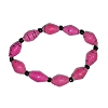Disney EPCOT Recycled Paper Bracelet - Pink Beads