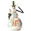 Disney Traditions by Jim Shore - Nightmare Before Xmas Snowman