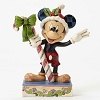 Disney Traditions by Jim Shore - Mickey Mouse with Candy Cane