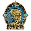 Disney Princess Pin - Birthstone December Elsa