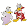 Disney Donald Duck Pin Set - Devil and Angel