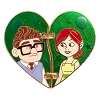 Disney Couples Pin - Heart Shaped Carl and Ellie