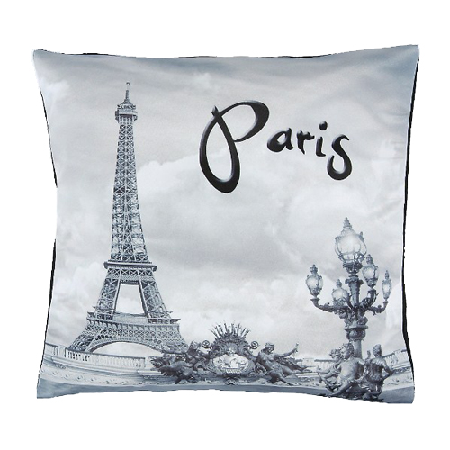 Decorative Pillows Eiffel Tower : Your WDW Store - Disney Decorative Pillow - Paris Eiffel Tower