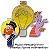 Disney Magical Montage Pin - #2 Figment and Dreamfinder
