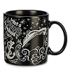 Disney Coffee Cup Mug - Chalkboard - Be Our Guest - Cruise Line - Black