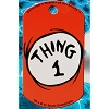 Universal Engraved ID Tag - Dr. Seuss Thing 1