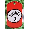 Universal Engraved ID Tag - Dr. Seuss Thing 2