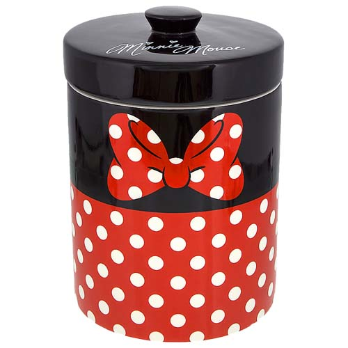 Disney Kitchen Canister Minnie Mouse