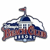 Disney Magnet - Beach Club Resort Logo