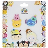 Disney 4 Pin Booster Set - Tsum Tsum - Frozen Stitch Pooh Pinocchio