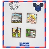 Disney 4 Pin Booster Set - Park Icons - Fly Me to Disney Parks