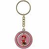 Disney Keychain - Colorful Minnie and Figaro Spinner