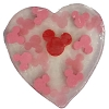 Disney Basin Fresh Cut Soap - Valentine Heart with Mickey Icons