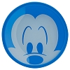 Disney Dessert Plate -  Silicone Covered - Mickey Mouse - Blue