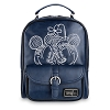 Disney Backpack - Mickey & Minnie Embroidered Backpack - Navy