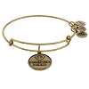 Disney Alex and Ani Charm Bracelet  - Star Wars I Love You - Gold