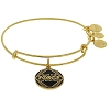 Disney Alex and Ani Charm Bracelet  - Star Wars May the Force - Gold