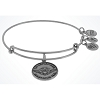 Disney Alex and Ani Charm Bracelet - Star Wars Yoda Bangle - Silver
