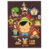 Disney Postcard - Pinocchio Brave, Truthful, Unselfish by Chris Lee