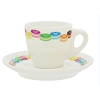 Disney Espresso Cup & Saucer - Mickey Icon Macarons Eiffel Tower