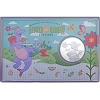 Disney Collector Coin - Flower and Garden 2016 Passholder - Figment