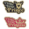 Disney 2 Pin Set - I'll Be Your Prince I'll Be your Princess