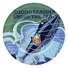 Disney Dessert Plate - Attraction Poster 20,000 Leagues Under the Sea