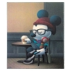 Disney Cafe Hipster Magnet By Maruyama