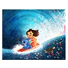Disney Postcard - Lilo & Stitch Hawaiian Roller Coaster Nidhi Chanani