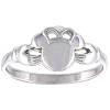 Disney Ring - Mickey Mouse Icon Claddagh by Kit Heath