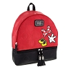 Disney Backpack Bag - Minnie Mania - Red with Bow Shoes Glove