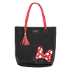 Disney Tote Bag - Minnie Mania - Black with Bow