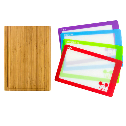 Your Wdw Store Disney Cutting Board Bamboo With 4