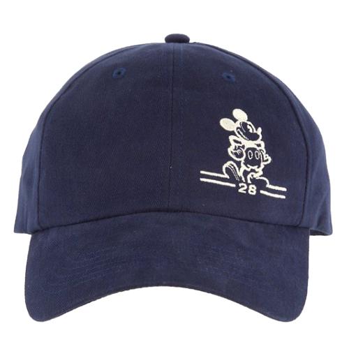 mickeys cap baseball diamond hat navy mickey mouse white