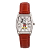 Disney Watch -  Mickey Red Faux Crocodile