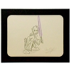 Disney Artist Sketch - Star Wars - Jedi Donald Duck - Specific