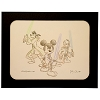 Disney Artist Sketch - Star Wars - Mickey Donald Goofy - Multi