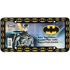 DC Comics BATMAN License Plate Frame - Batman Bat Logo