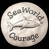 SeaWorld Pocket Token Coin - Sea Wishes - Shark Courage