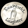 SeaWorld Pocket Token Coin - Sea Wishes - Penguin Laughter