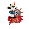 Disney Ornament - Disney Cruise Line Photo Frame - 2016