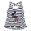 Disney CHILD Shirt - Mickey Mouse Striped Tank Top for Girls